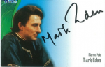 Doctor Who  MARK EDEN  as Marco Polo  AUTOGRAPH CARD AU09, Strictly Ink  -  10633